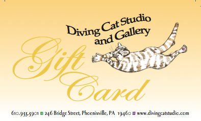 Diving Cat Studio Gallery Gift Card
