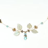 Robin Goodfellow Aquamarine Pixie Necklace