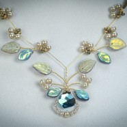 Robin Goodfellow Graceful Aquamarine Necklace